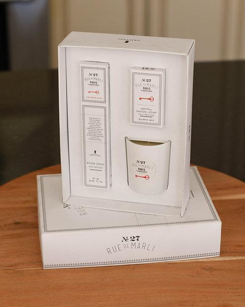 No. 27Rue du MarliParis Wellbeing Gift Set ~ $26