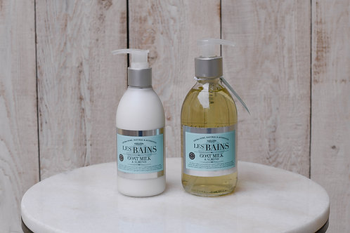 Les Bains Goat Milk and Almond Gift Set ~ $42