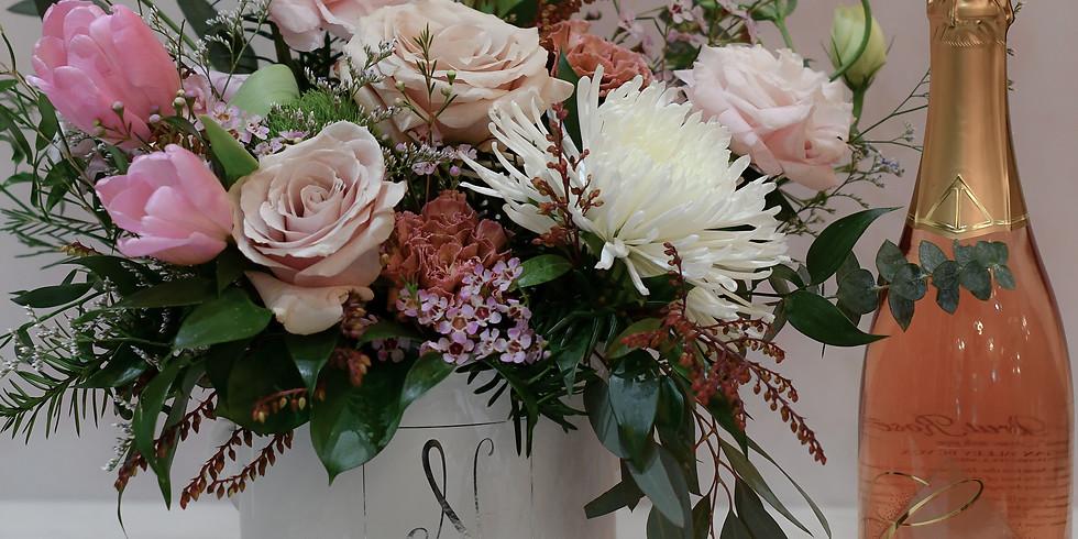 """""""Galentines Night"""" at Niche Boutique Florals ($100)"""