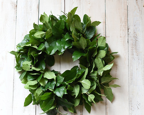Salal Wreath ~ From $75