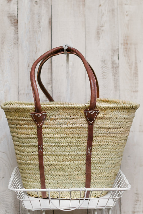 Straw Market Bag ~ $50
