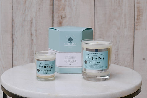Les Bains Goat Milk and Almond Soy Candles ~ From $11