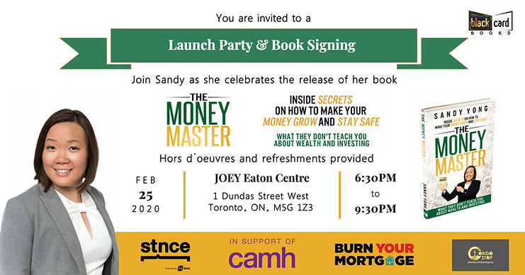 The Money Master Book Launch - Sandy Yon