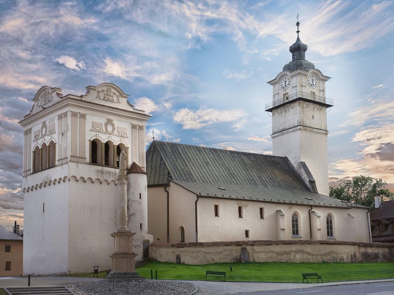 Historické centrum Spišská Sobota