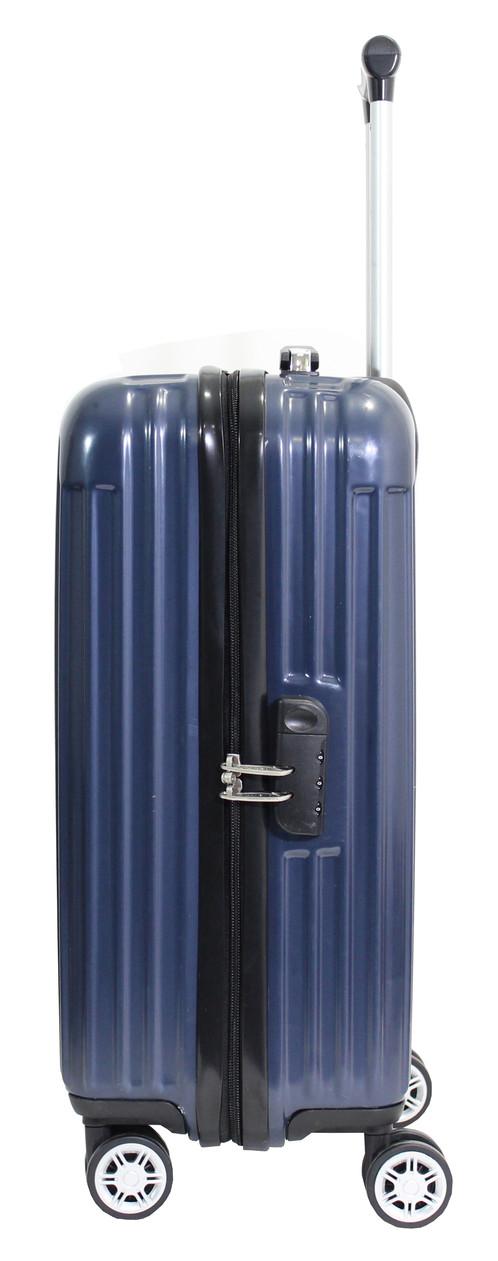 Alistair Safe - Valise Cabine Taille 55 cm - Polycarbonate Ultra Légère - 4 Roues 4jvRjVn