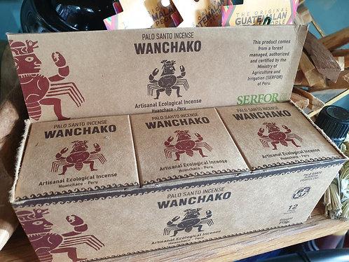 Wanchako Palo Santo incense