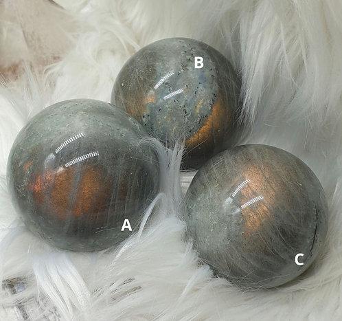 Orange Labradorite