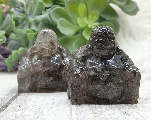 Smokey quartz Buddha