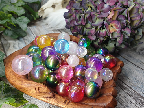 Rainbow Aura spheres