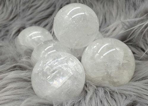 Ice calcite sphere