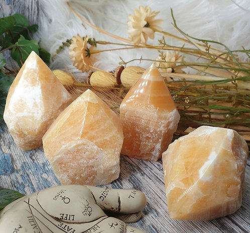 Yellow calcite from mexico
