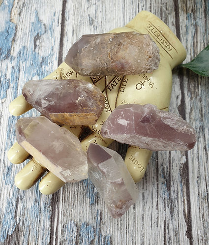 Lithium quartz points