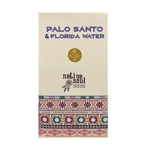 Palo Santo and Florida Water incense