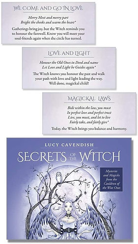 Secrets of the witch Affirmation cards