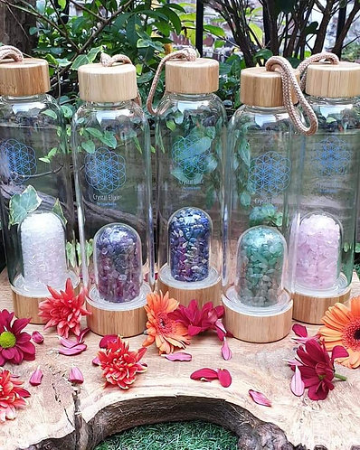 Crystal elixir bottle * COLLECTION ONLY