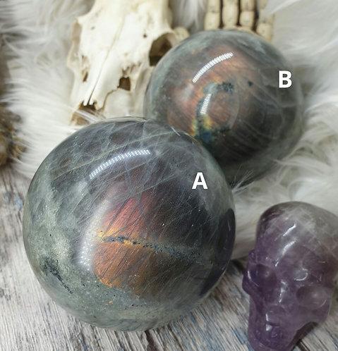 Large Labradorite sphere