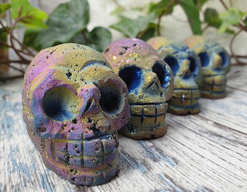 Titanium skull