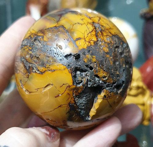 Mookaite sphere Druze