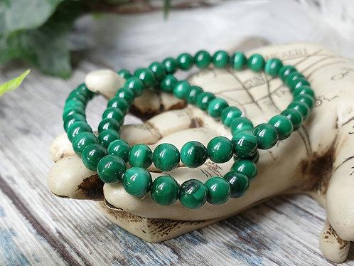 Genuine Malachite bracelet