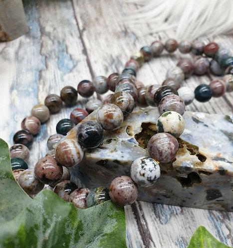 Ocean Jasper bracelet