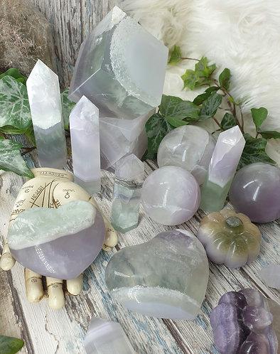 Lavender fluorite