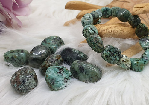 African Turquoise Tumblestone