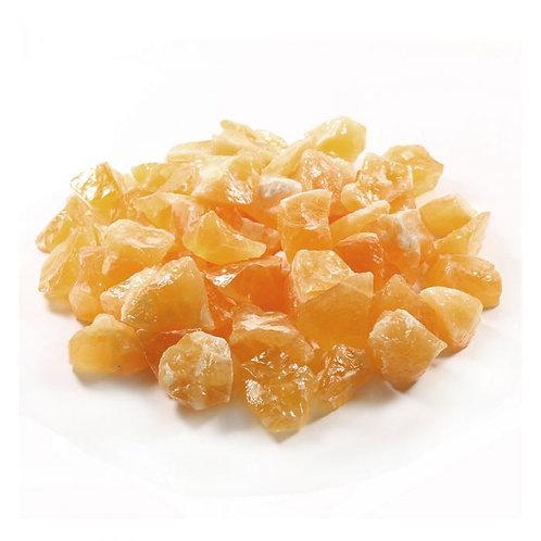Honey calcite Raw