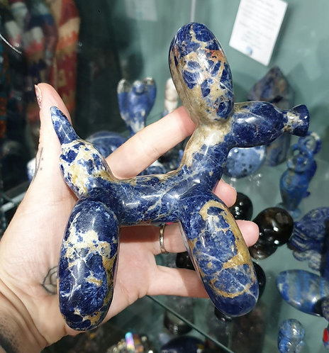 Sodalite Balloon dog