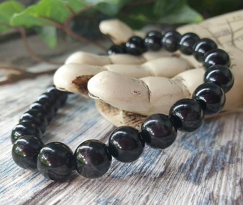 Black Tigers eye bracelet