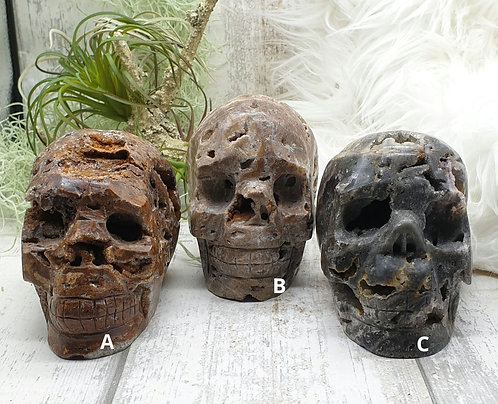 Sphalerite Skull