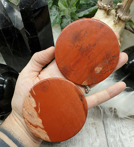 Red jasper plate