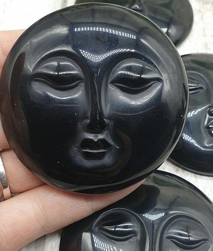 Obsidian face