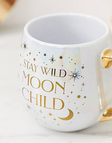 Stay wild moon child mug