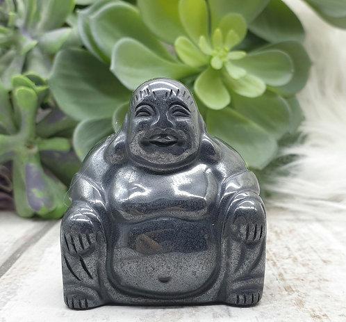 Hematite buddha