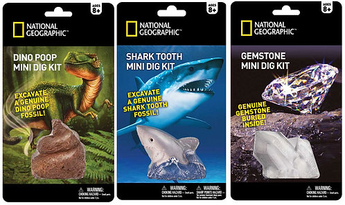 Mini National Geographic dig kit