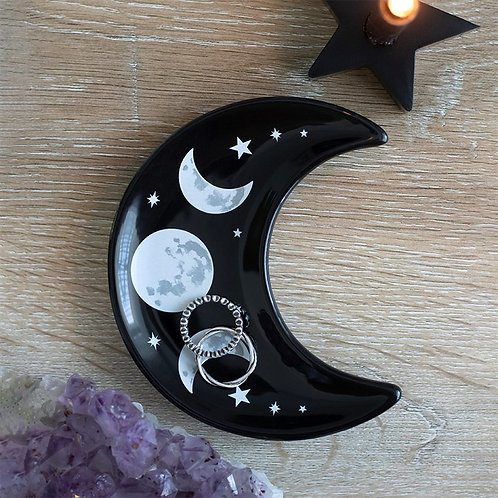 Luna moon dish