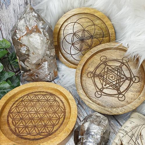 Sacred geometry grid