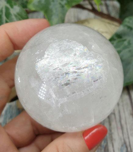 Optical calcite sphere