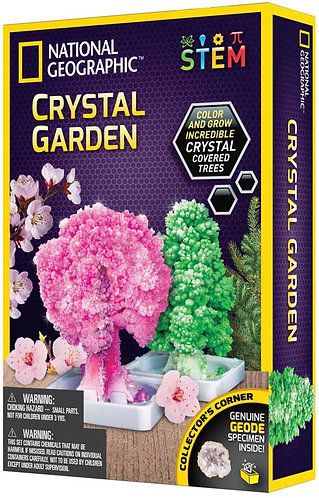 Crystal garden growing kit National Geographic