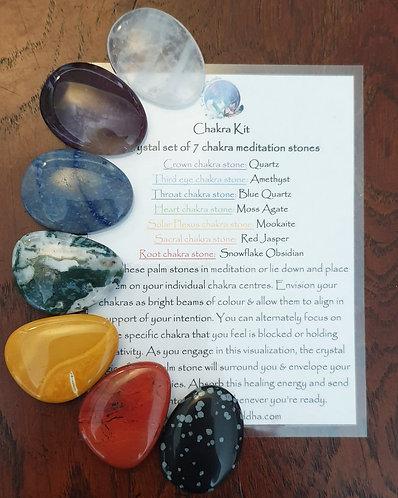 Chakra set (Middle size)