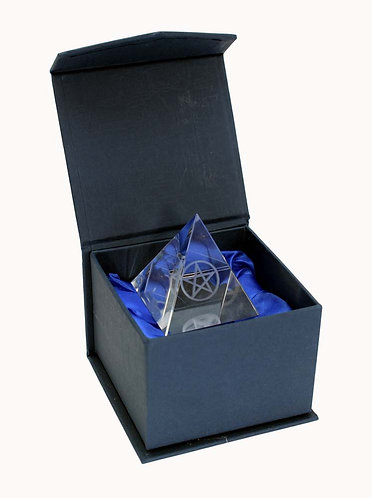 Pentagram pyramid