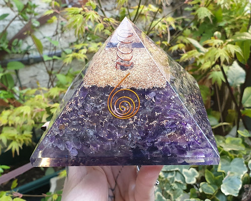 Extra large Orgonite Amethyst