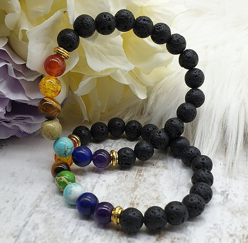 Aromatherapy Gemstone Bracelet