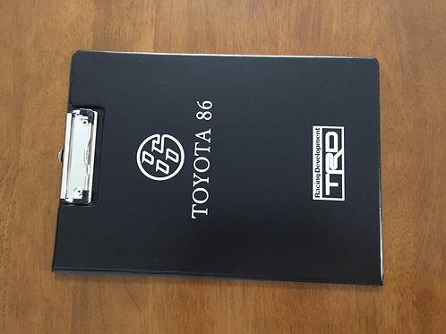TRD clipboard binder