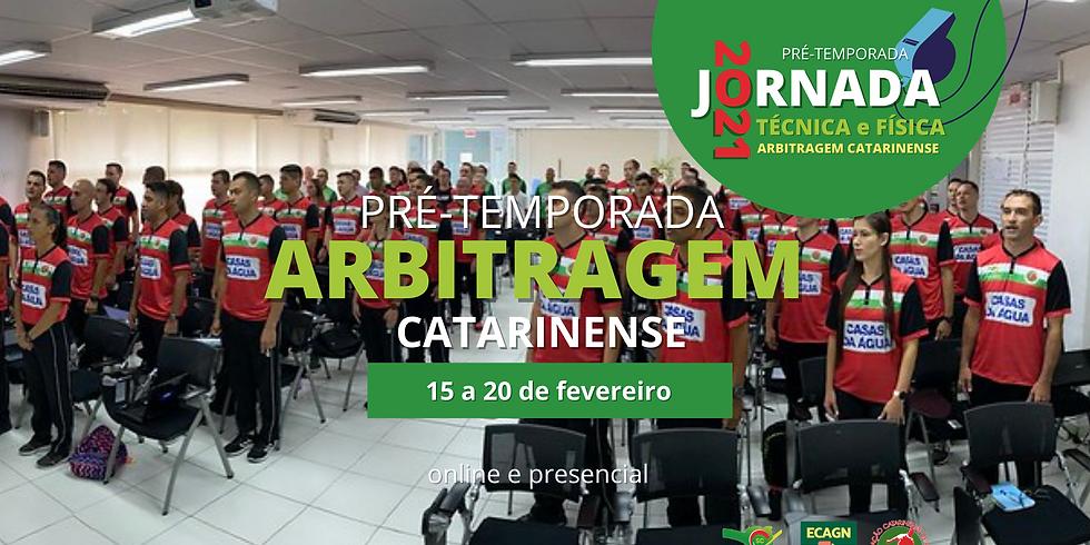 Pré-temporada da Arbitragem Catarinense 2021