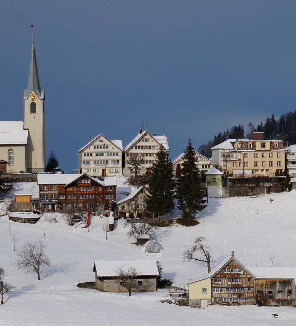 Schwellbrunn im Winter