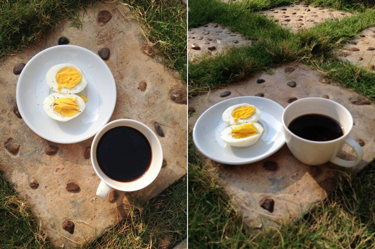 Healthy Recipe: Coffee & Eggs