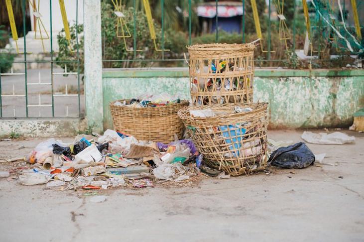 Trash in Southeast Asia