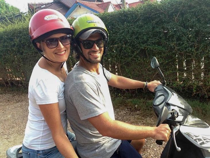 Motorbiking in Koh Lanta