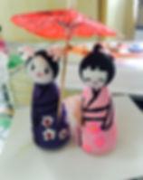 Theme 2 Activity, Kokeshi Dolls.JPG